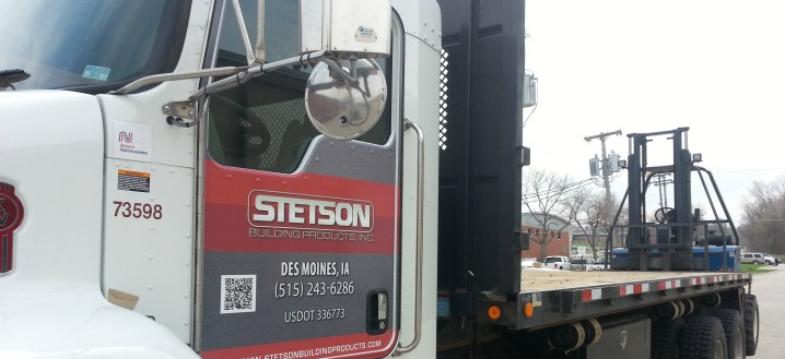 Stetsons Delivery Truck Cab