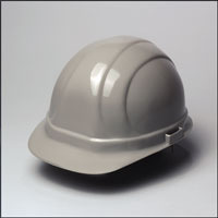 Gray Hard Hat