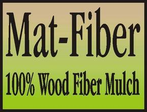 98% WOOD FIBER MULCH