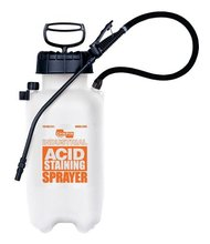 SPRAYER ACID STAINING