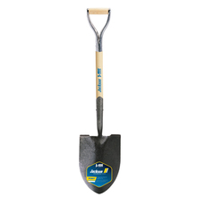 AME 1201500 J-450 Pony Round Point Shovel, Solid Shank & Armor D-grip from