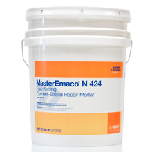 CHE 51671013 MasterEmaco N 424 Fast-Setting Cement-Based Repair Mortar 60 L