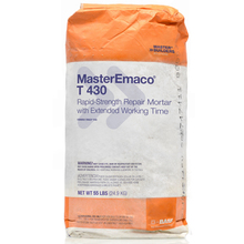 CHE 51671914 MasterEmaco T 430 Rapid-Strength Concrete Repair 55lb Bag from