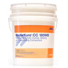 CHE 51678857 MasterKure CC 180WB Water-Based, Acrylic Curing & Sealing Comp