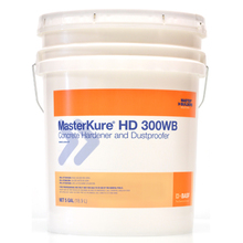 MasterKure HD 300WB Concrete Hardener and Dust Proofer 5 Gallon