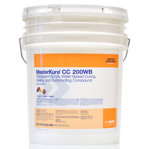 CHE 57152803 MasterKure HD 200WB Hardening, Sealing Compound 55/gal from Ca