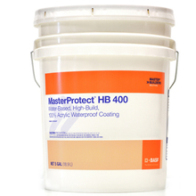 CHE 51716752 MasterProtect HB 400 Waterproof Coating Medium Smooth 5/gal fr
