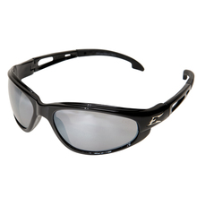 WOL SK117 Edge Kazbek Black/Silver Miror Lens Safety Glasses from Carter-Wa
