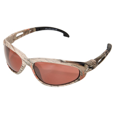 WOL SW115CF Edge Dakura Camouflage/Copper Driving Lens Safety Glasses from
