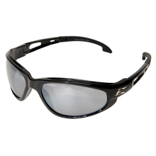 WOL SW117 Edge Dakura Black/Silver Mirror Lens Safety Glasses from Carter-W